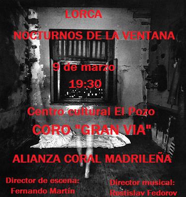 Cartel Lorca 9 de Marzo