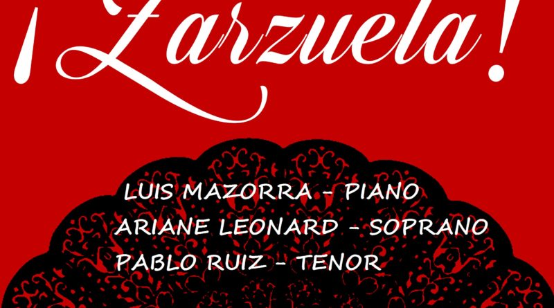 Cartel Zarzuela 4 de Mayo Pilar Miro
